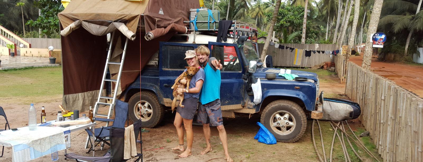 Eigentlich wollten wir mit dem Land Rover nach Südafrika
